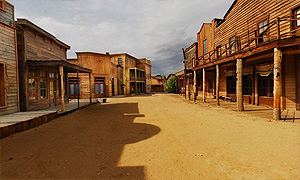 Virtual Tours - Melody Ranch Motion Picture Studiowestern town